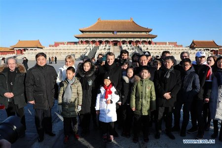 French President Visits Palace Museum